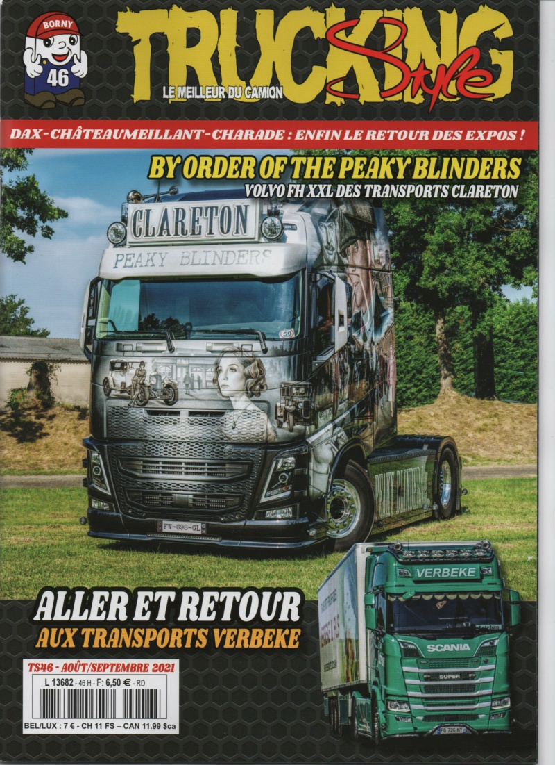 Trucking Style n°46 août/septembre 2021 Trucki70