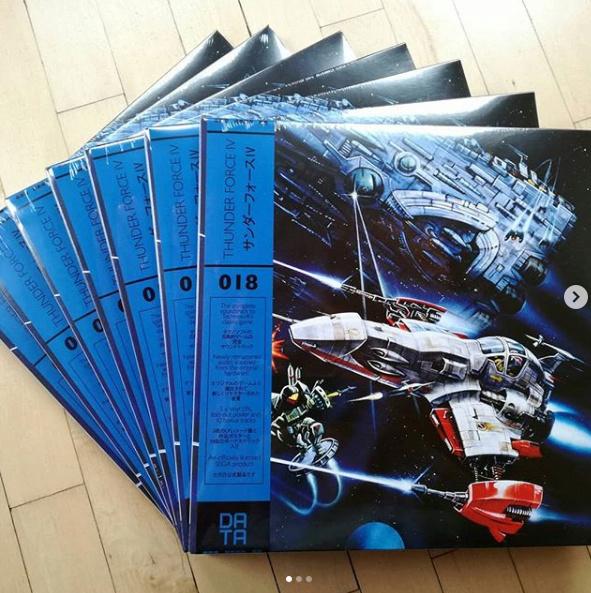 Vinyl DATA DISCS Thunderforce 4 96a60510