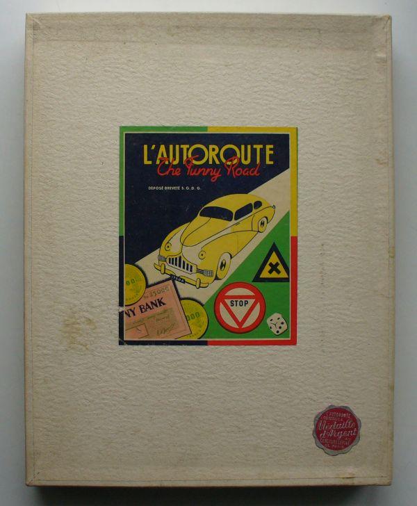 """L'autoroute """" The funny road """" L_auto10"""