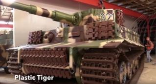 Full Scale Plastic Tiger I Plasti10