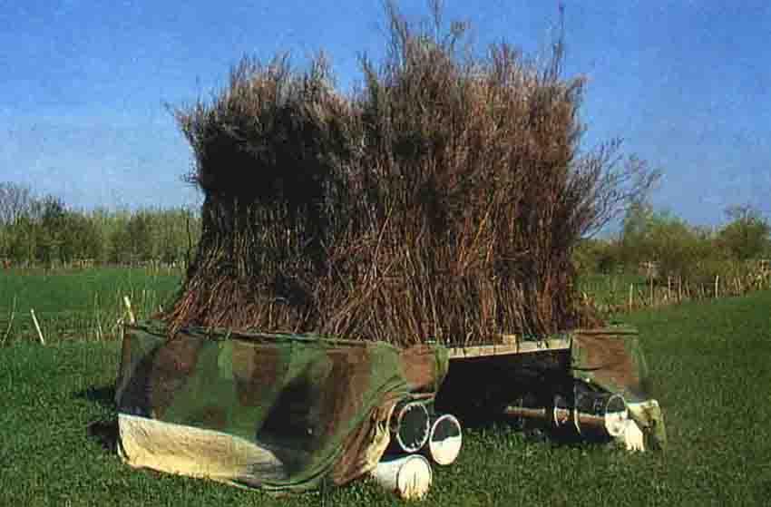Fabrication de poste de chasse  Affut210