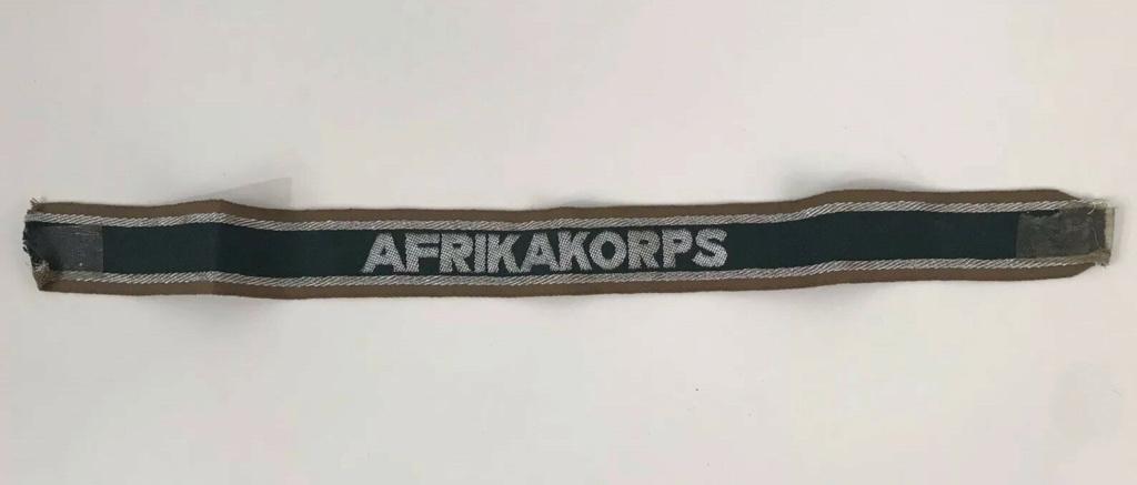 identification brassard Afrikakorps  S-l16010