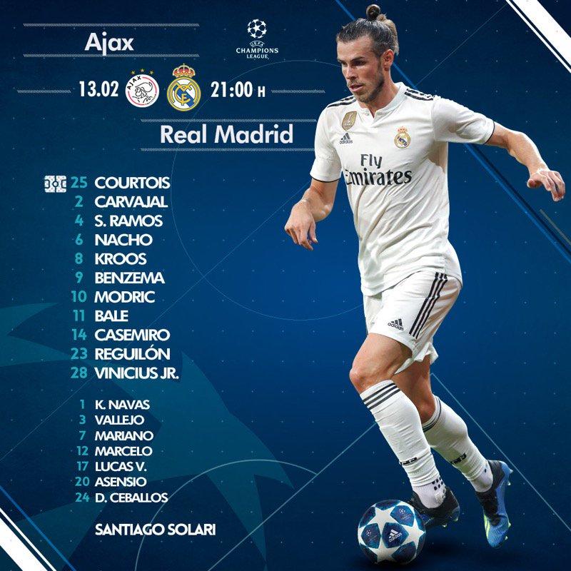Ajax v Real Madrid Bale10