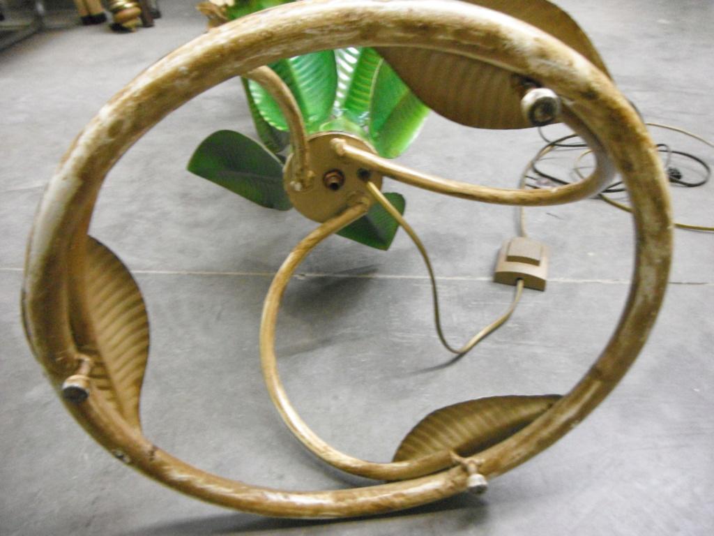 lampadaire vintage feuille caoutchouc  Dscf9411