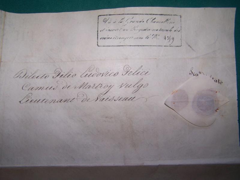 Ordre St Grégoire au Lieut de Vaisseau Louis Felix Camus de Martroy 000_1129