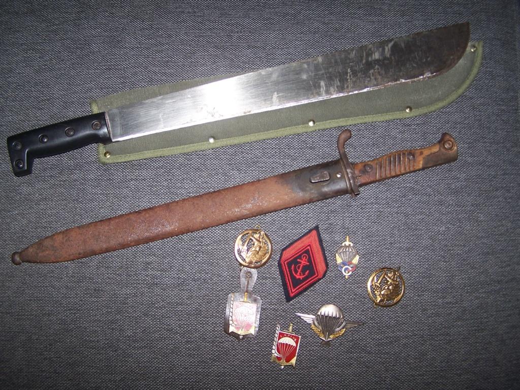 Baio Mauser 1915,brevet et insignes para et divers... 000_1247