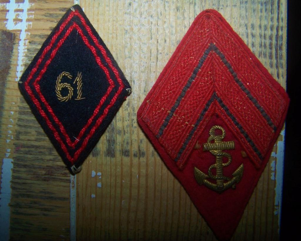 Pattes de col et insignes gendarmerie Garde Mobile 1927-1940 000_1769