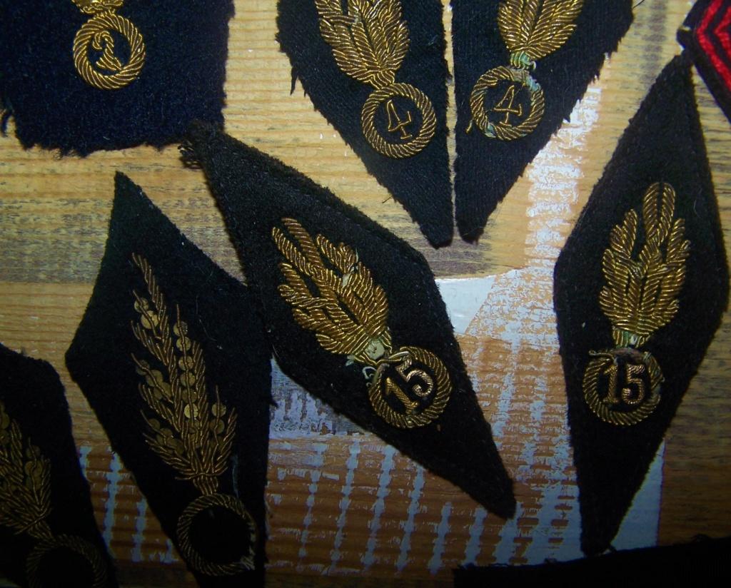 Pattes de col et insignes gendarmerie Garde Mobile 1927-1940 000_1770