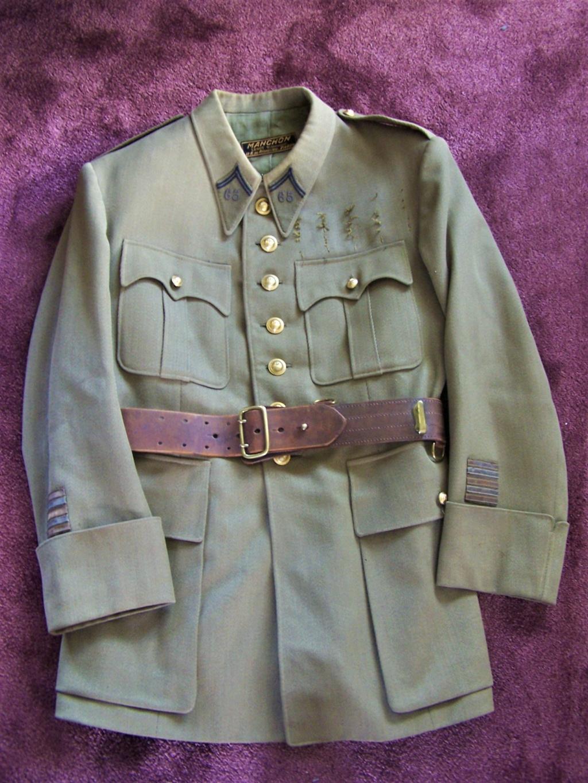 Veste col aiglon Lt-Colonel LAMBERT 1937 65e RI 000_2257