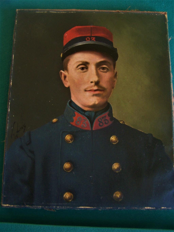 """Grande """"oeuvre"""" (photo réhaussée) d'un officier belge. 102_8820"""