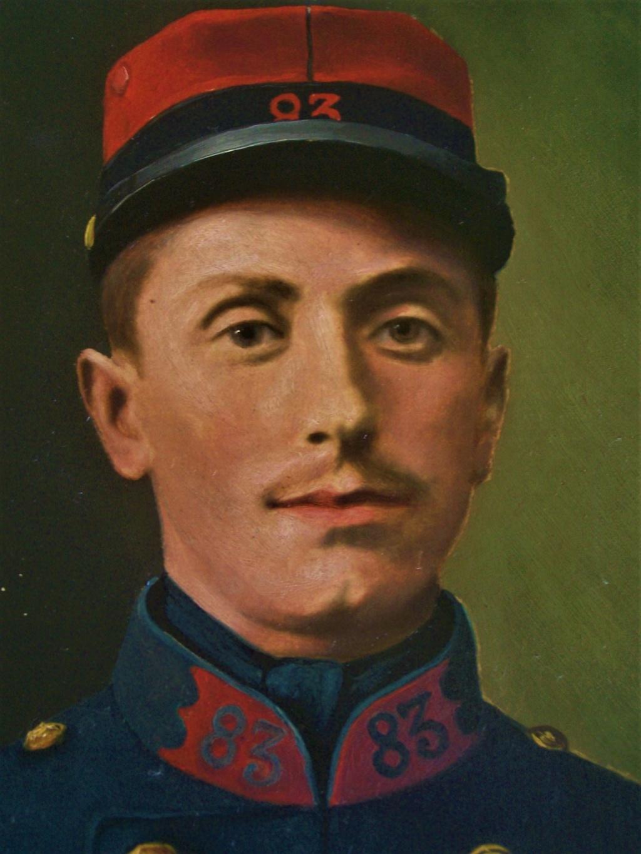 """Grande """"oeuvre"""" (photo réhaussée) d'un officier belge. 102_8821"""