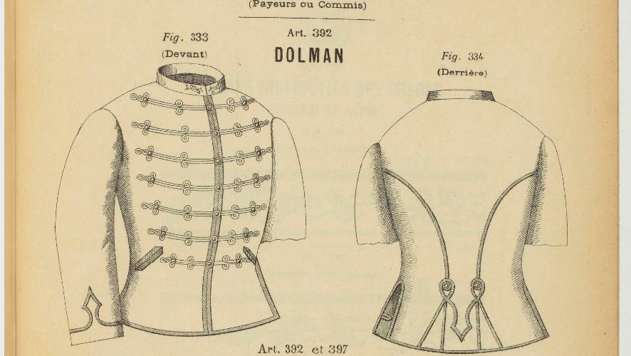 Dolman et képi 1883 du commandant SUBRA Trésor et Poste. 2019-022