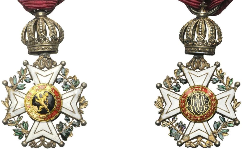 Ordre de Leopold 1er Dutali10