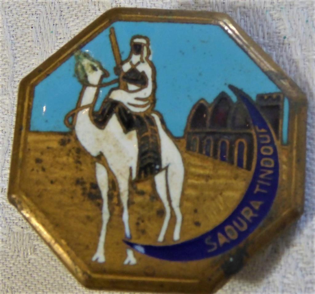 Beaux insignes Train et Compagnie Saharienne anciens Insign11