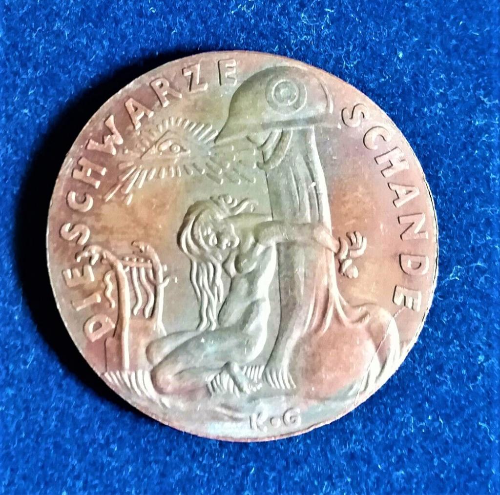 medaille allemande 1920 occupation de la Rhénanie....les prémices! Medail10