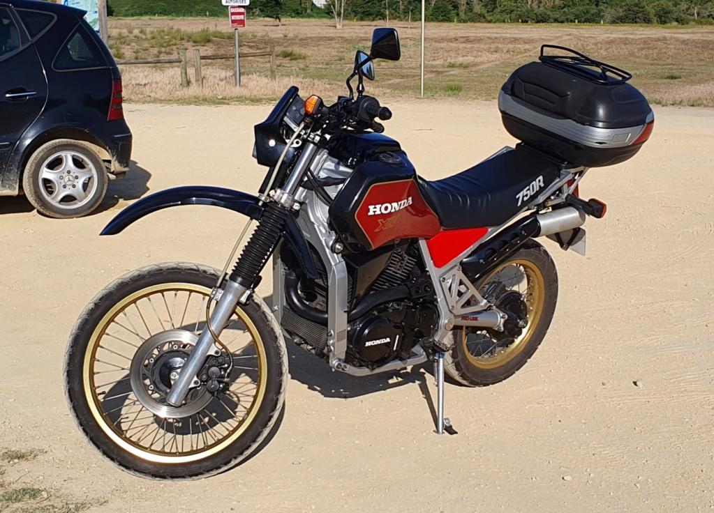 moteur - XLV 750 RF de 1986 noire/bordeaux 62600 km 20190613