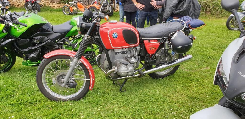 Balade moto inter clubs du Poitou à Chiré en Montreuil 86190 20190512