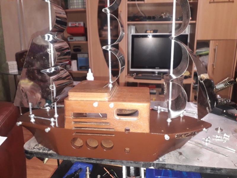 Ламповый радиоприёмник Majestic Melody Cruiser 1S49, 1940 год, США. 20210513