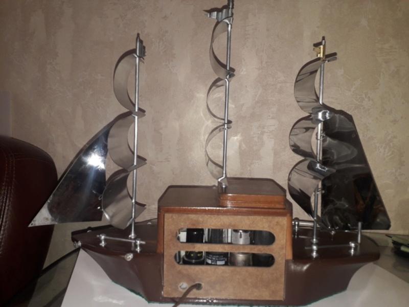 Ламповый радиоприёмник Majestic Melody Cruiser 1S49, 1940 год, США. 20210515