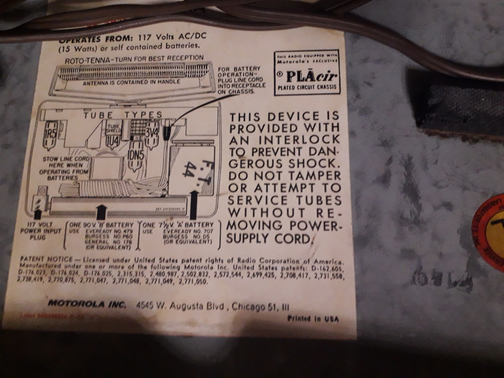 Зарубежные бытовые радиоприёмники - Страница 2 N_638