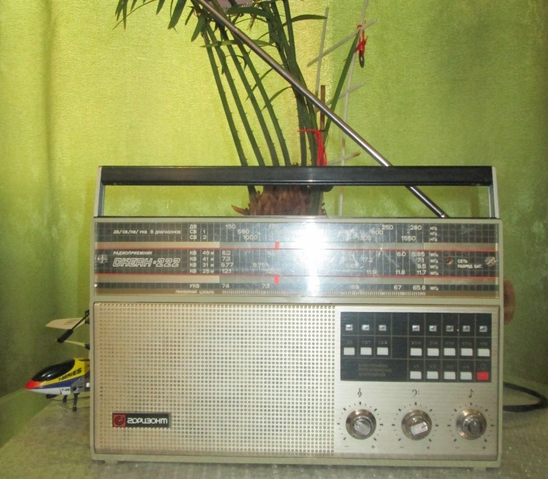Бытовые радиоприёмники СССР Oa-110