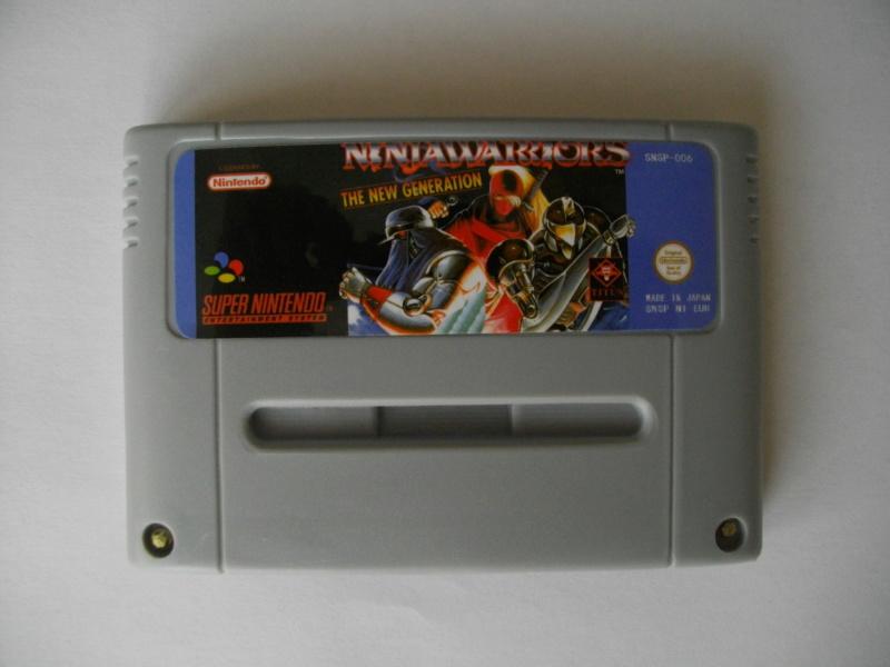 [vendu] Jeux SFC - ajout Ninja Warriors Again Imgp1557