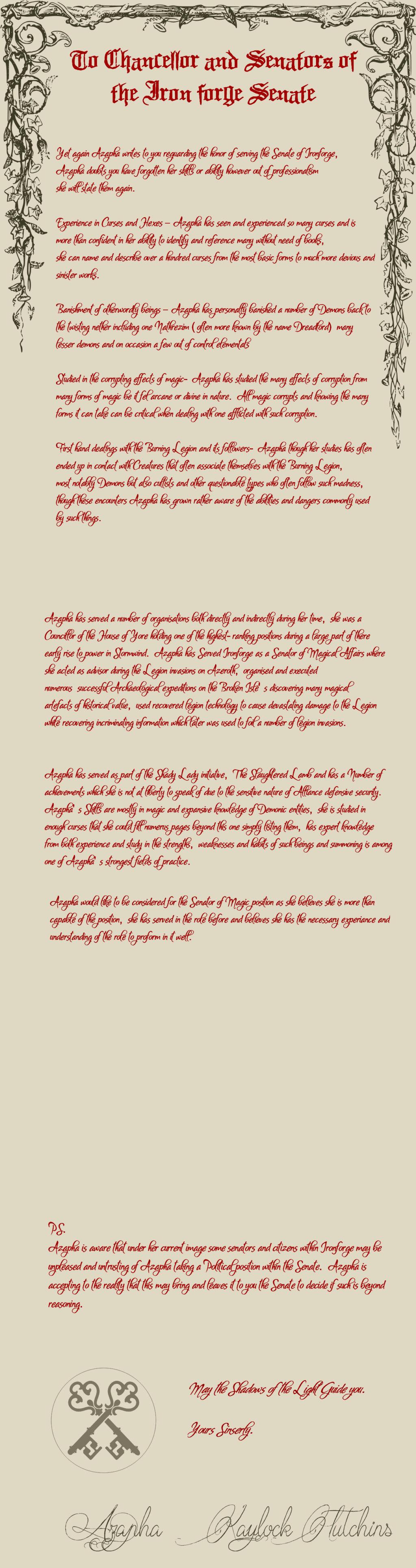 •IC• Letters to the Senate Senate10