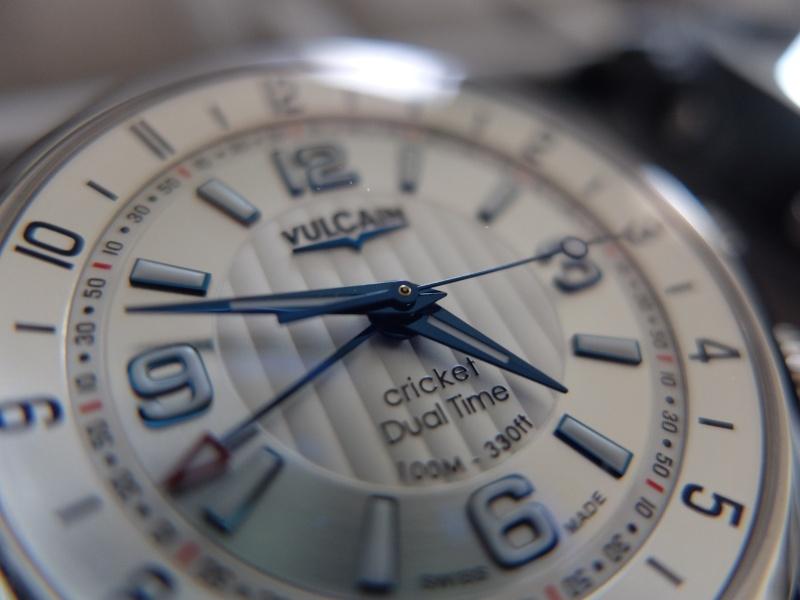 Vends - [Baisse de prix][Vends] Vulcain Cricket Dual Time blanc 20151210