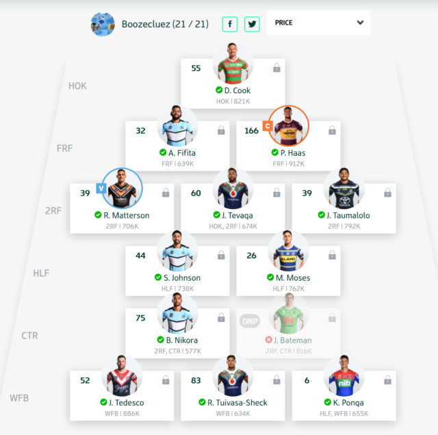 Trials and Tribulations of a NRL Fantasy Coach 2019 - End result 40th - Page 11 Round172