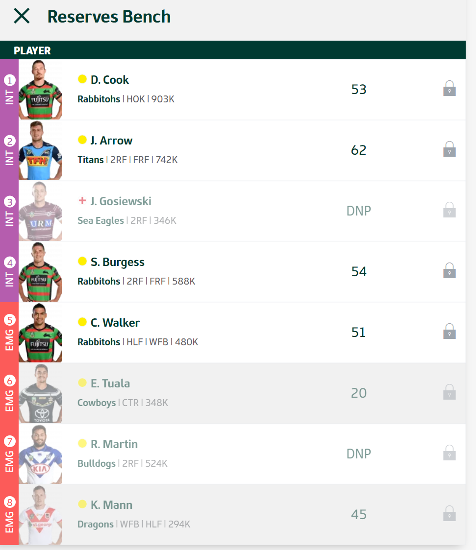 Trials and Tribulations of an NRL Fantasy coach 2018 - End result 164th - Page 9 Round_18