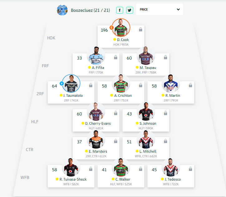 Trials and Tribulations of an NRL Fantasy coach 2018 - End result 164th - Page 10 Round_43