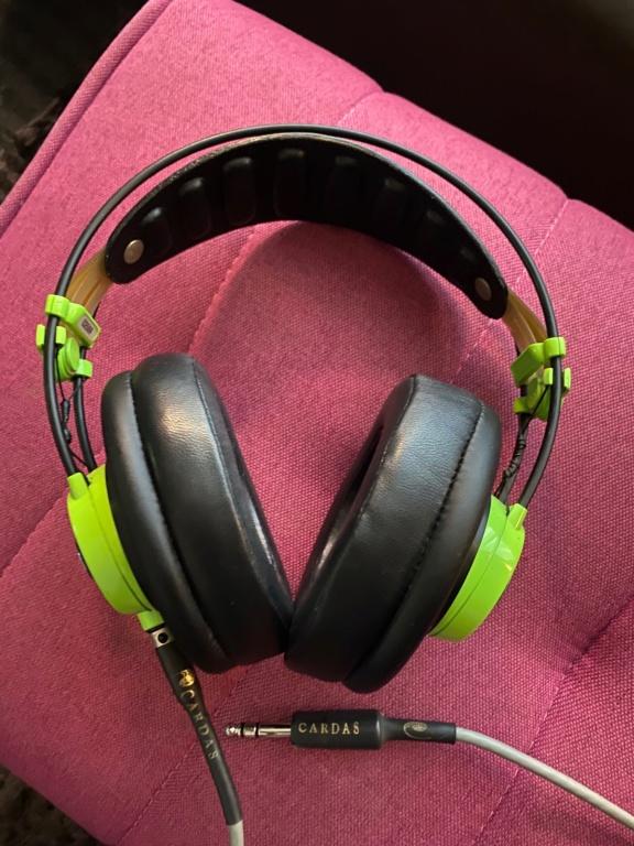 AKG Q701 headphones with Cardas XLR headphone cable Akg_q712