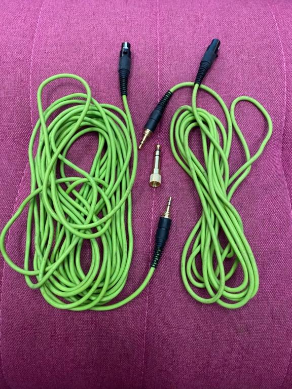 AKG Q701 headphones with Cardas XLR headphone cable Akg_q715