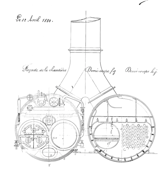 Vipère, canonnière de station de 1879 au 1/50 Captur13