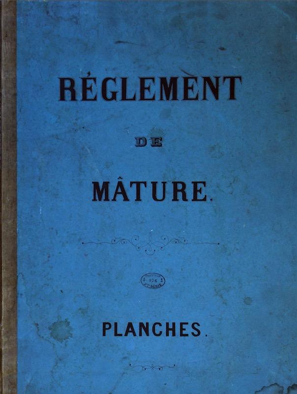 SAGITTAIRE - Canonnière de station - 1882 - Éch : 1/50 Captur22
