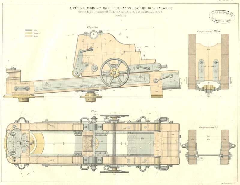 SAGITTAIRE - Canonnière de station - 1882 - Éch : 1/50 - Page 2 Captur38