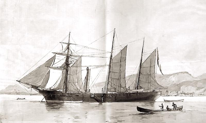 """Frégate à roues """"La Caraïbe"""" perdue en janvier 1847. - Page 2 Captur55"""