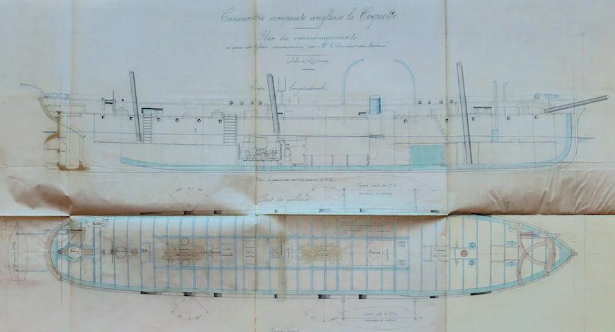 SAGITTAIRE - Canonnière de station - 1882 L1060010