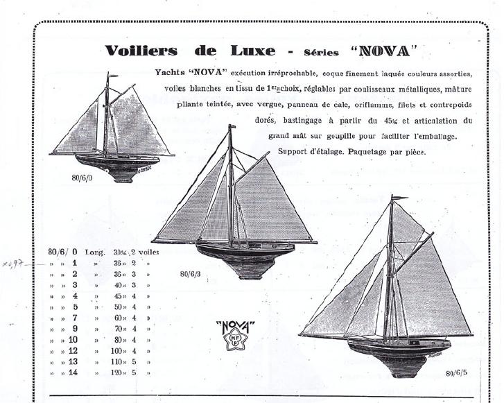 Schéma de gréement NOVA Captu104