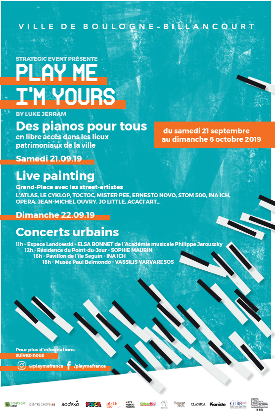 Play me, I'm Yours à Boulogne-Billancourt 67778710