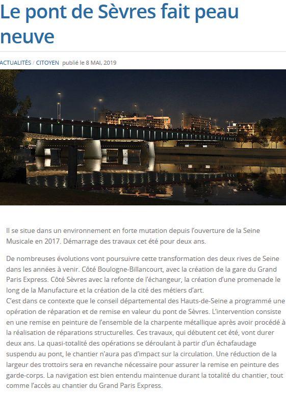 Pont de Sèvres Clipbo40