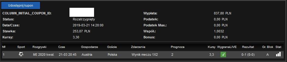 Screenshoty naszych wygranych - bukmacher - Page 18 Polska10