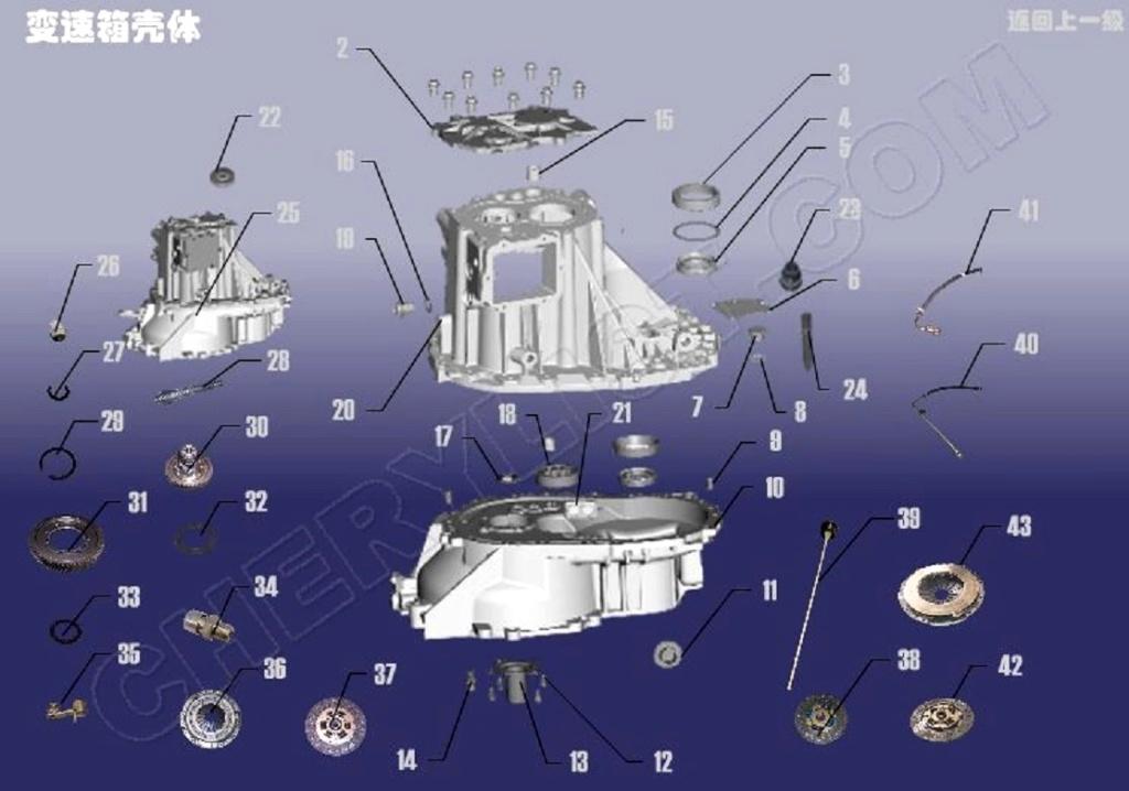 Kit de Embrague para  Chery Tiggo FL3-Problemas... Sqr72411
