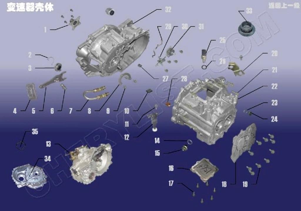 Kit de Embrague para  Chery Tiggo FL3-Problemas... Sqr72413