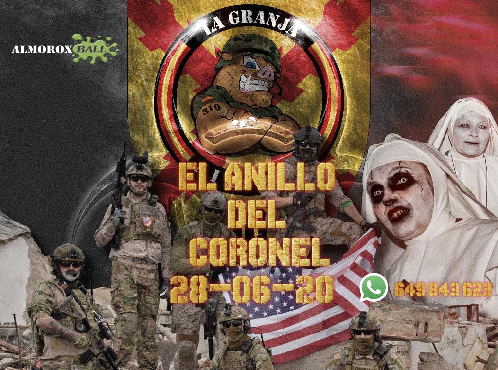 EL ANILLO DEL CORONEL. Partida abierta. La Granja AIrsoft. 28-06-20. 28-0610