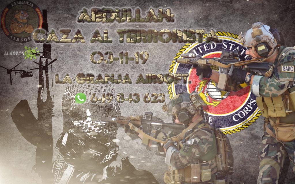 ABDULLAH: CAZA AL TERRORISTA. PARTIDA ABIERTA.03-11-19. Abdula11