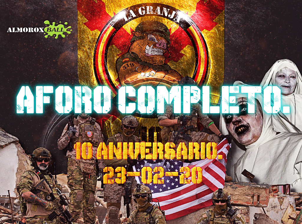 10º ANIVERSARIO. AFORO COMPLETO. 23-02-20. Aforo_10