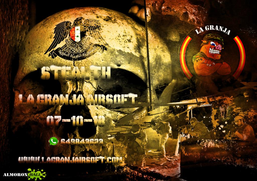 STEALTH. PARTIDA ABIERTA. LA GRANJA. 07-10-18 Cartel11