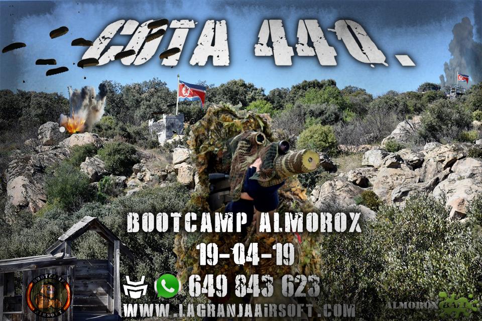 COTA 440. BOOTCAMP. PARTIDA ABIERTA. 19-04-19. Cota_412