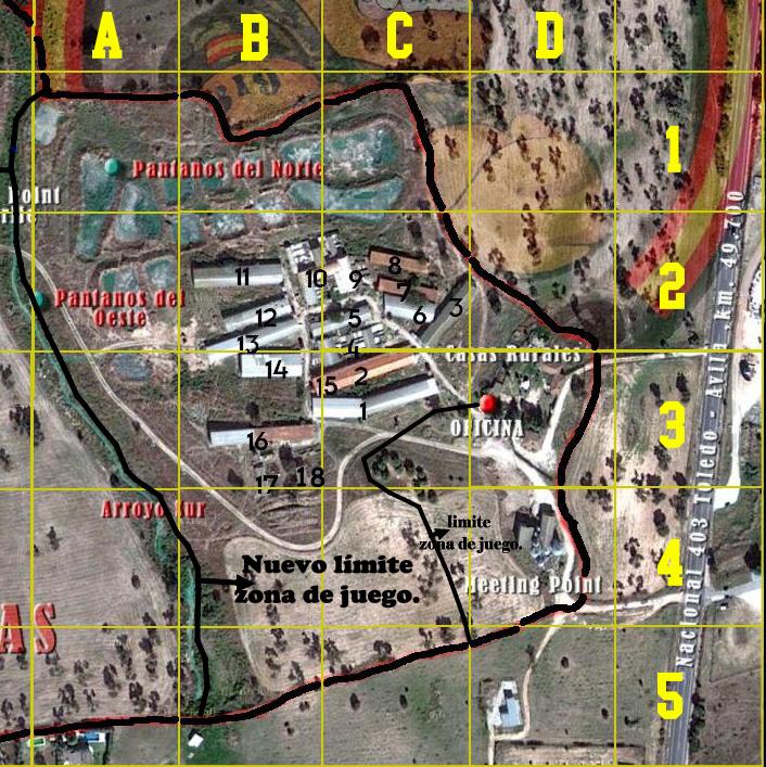 PRESENTACIÓN Y CARACTERÍSTICAS DE LA GRANJA Y BOOTCAMP.. Mapa-c12
